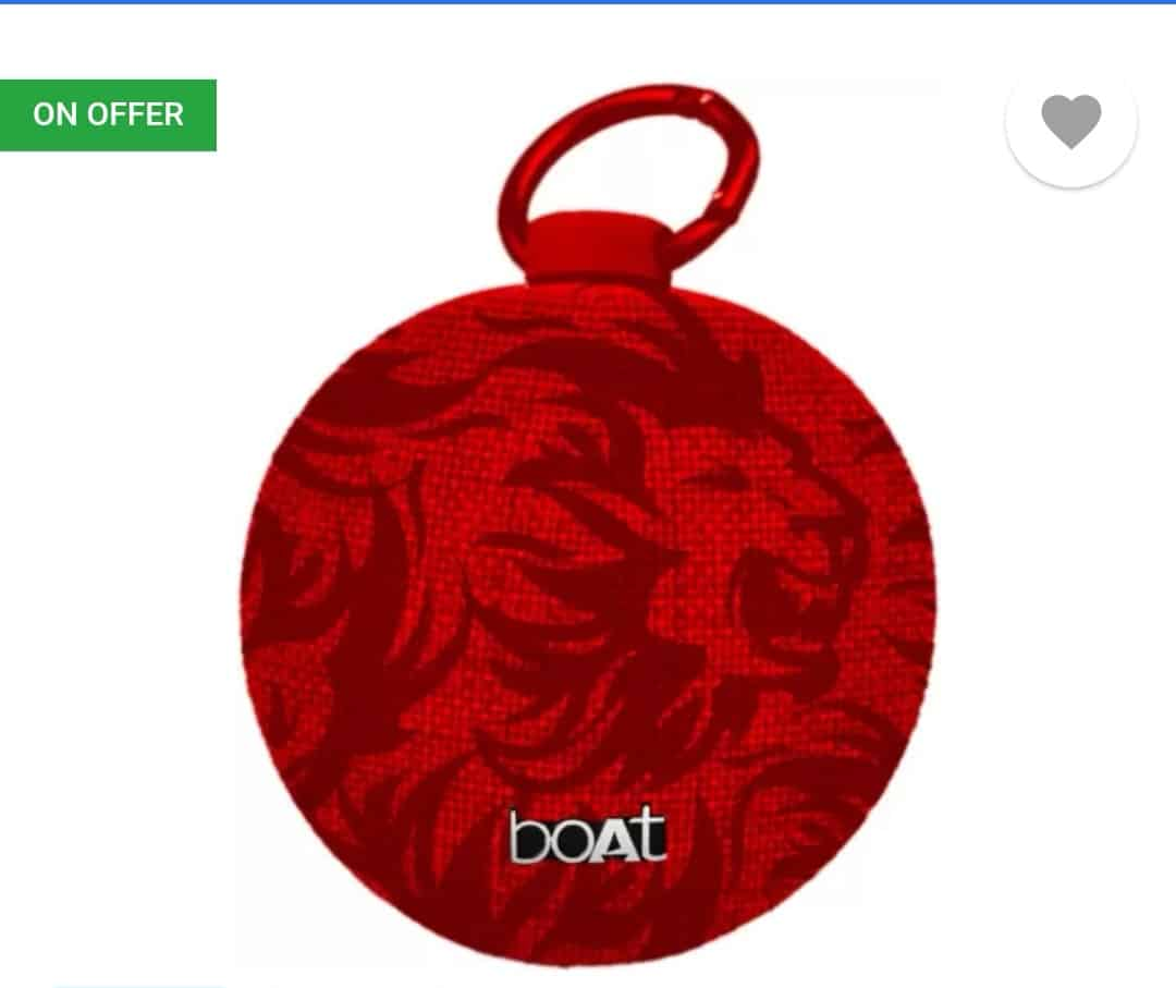 boAt Stone 260 Portable Bluetooth Speakers Rs. 999