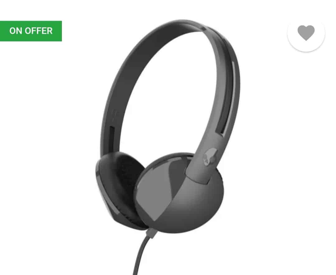 Upto 53% off on earphones and Headphones starts from Rs.349