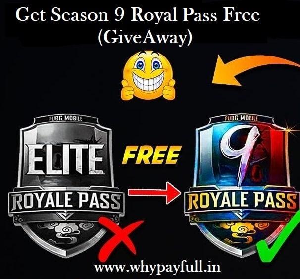 Pubg Royal Pass Season 9 Free