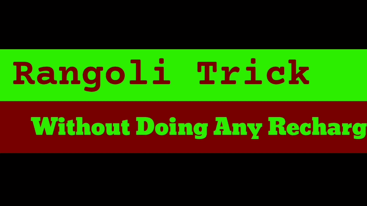 Rangoli Loot | Without Doing Any Recharge