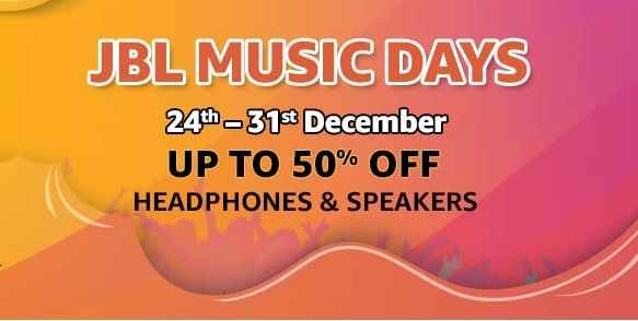 JBL Music Days | Up to 50% Off on Headphones & Speakers
