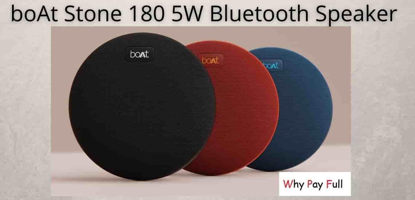All New boAt Stone 180 5W Bluetooth Speaker