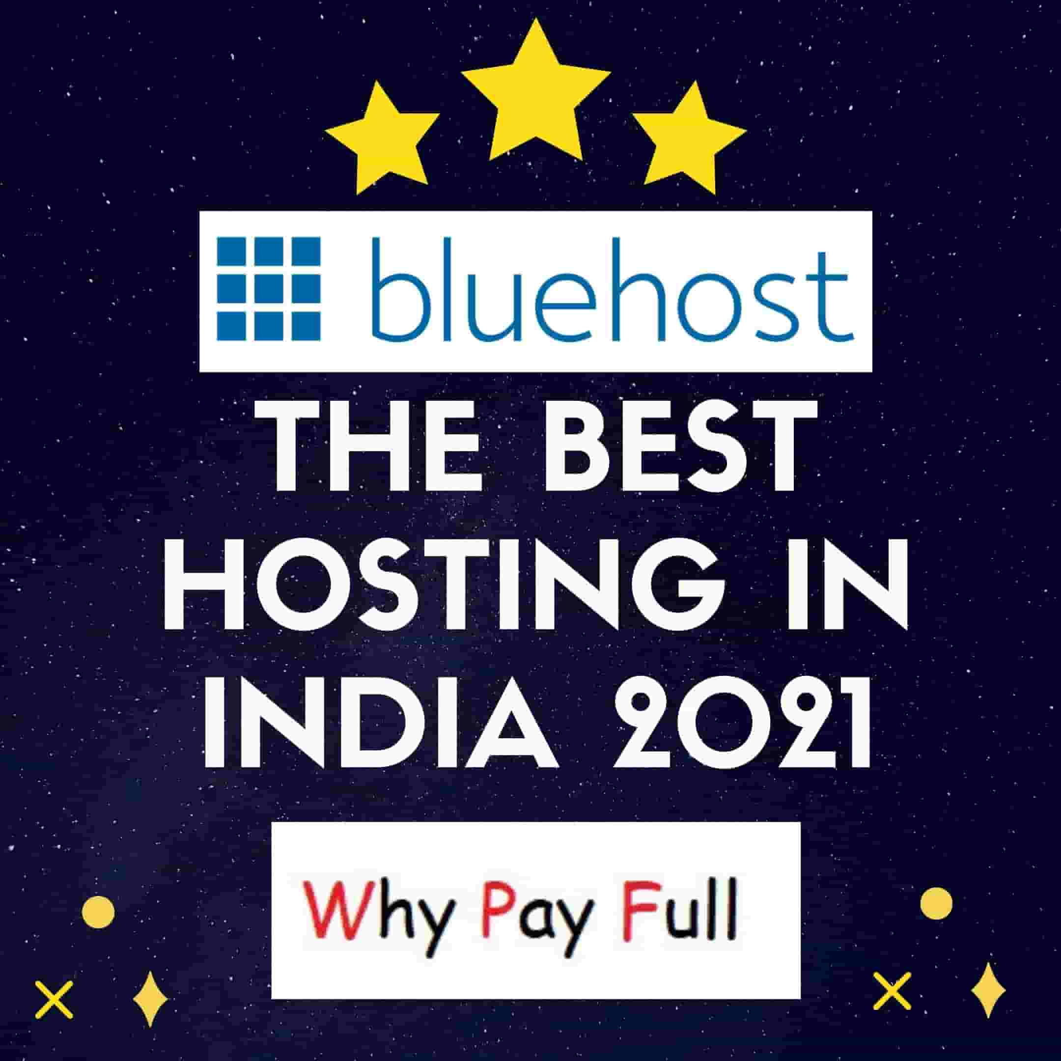 Bluehost: The Best Hosting in India 2021: Plans & Features
