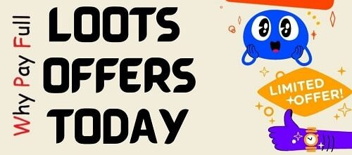 Amazon Loots Offers Today on WhyPayFull.in e1631950911525