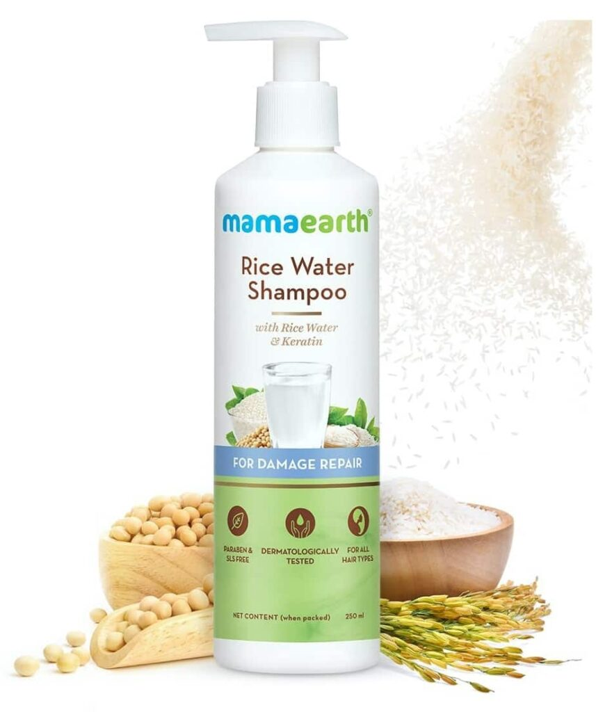 Rice Water Shampoo MamaEarth Rice Water Products Reviews Prices on whypayfull.in