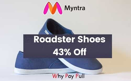 Best Roadster Shoes in India